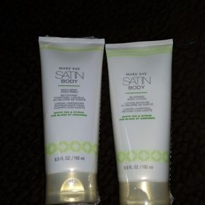 Satin Body shower gel and body lotion